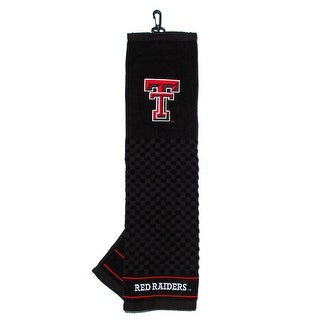 Texas Tech University Embroidered Golf Towel