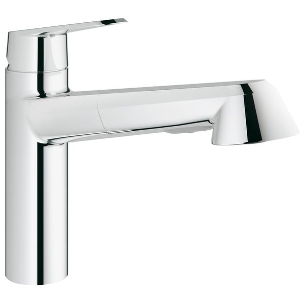 Shop Grohe 33 330 2 Eurodisc Cosmopolitan Pull Out Kitchen Faucet