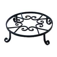 "Panacea 89165 Pot Trivet, 10"", Black"