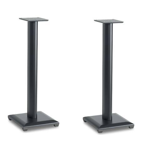"Sanus NF30 Natural Series 30"" Bookshelf Speaker Stands - Pair (Black)"
