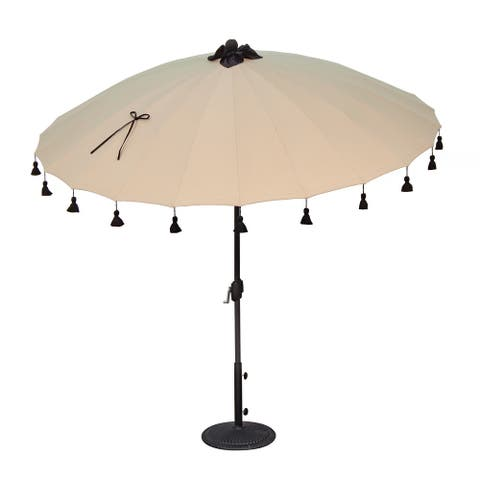 SimplyShade Isabela 8.5' Round Auto Tilt Umbrella