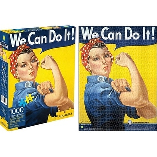 Aquarius Smithsonian Rosie the Riveter Puzzle (1000 Piece)