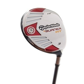 New TaylorMade Burner HT 3-Wood 15* RH w/ Senior AeroBurner Graphite Shaft
