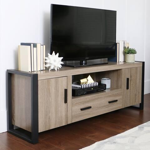 Carbon Loft Burke 60-inch Driftwood Urban TV Stand Console