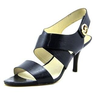 Michael Michael Kors Joselle Open Toe Open Toe Patent Leather Sandals