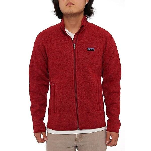 Shop Patagonia Men Men s Better Sweater Jacket Fleece Wax Red - Free  Shipping Today - Overstock - 13775773 88c55ba1a2b0