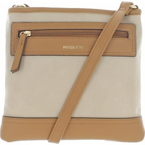 Rosetti Cali Women's Faux Leather Adjustable Crossbody Handbag - Small