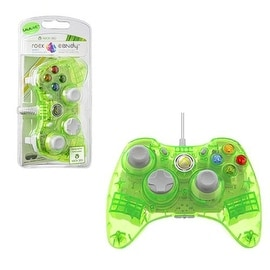 PDP Lalalime Green Rock Candy Wired Controller for Microsoft Xbox 360