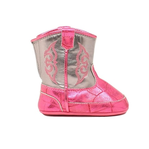 Blazin Roxx Slippers Girls Baby Buckers Jabrie Infant Pink