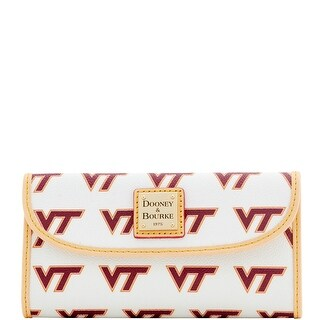 Dooney & Bourke NCAA Virginia Tech Continental Clutch (Introduced by Dooney & Bourke at $128 in Jan 2016)
