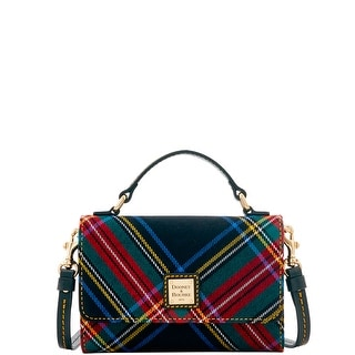 Dooney & Bourke Tartan Small Mimi Crossbody (Introduced by Dooney & Bourke at $168 in Sep 2016) - Black
