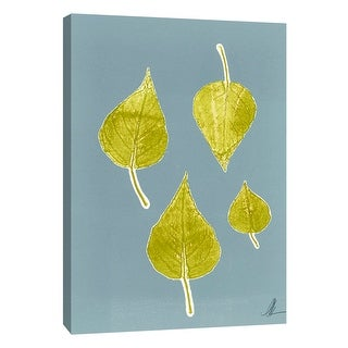 "PTM Images 9-105226  PTM Canvas Collection 10"" x 8"" - ""Leaf Sketch"" Giclee Leaves Art Print on Canvas"