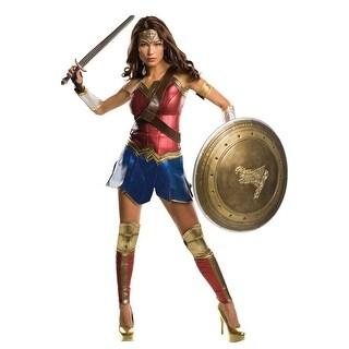 Rubies BvS Grand Heritage Wonder Woman Adult Costume - Red/Blue