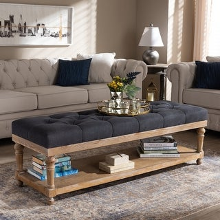 Link to The Gray Barn Windy Ridge Modern and Rustic Storage Bench Similar Items in Living Room Furniture