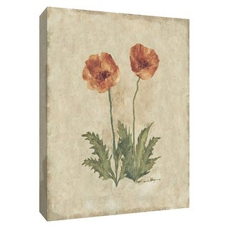 """PTM Images 9-154678  PTM Canvas Collection 10"""" x 8"""" - """"Springtime Poppies"""" Giclee Poppies Art Print on Canvas"""