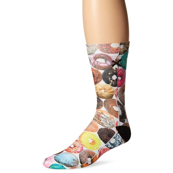 Doughnut Flavors Sublimated Socks, 6-13