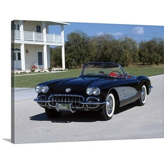 """Vintage car"" Canvas Wall Art"