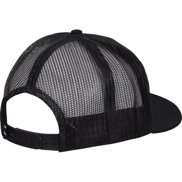 New Black Quiksilver Clip Charger Trucker Hat