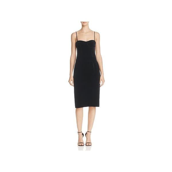 7beb55f9b9 Shop Theory Womens Party Dress Velvet Sleeveless - Free Shipping On ...