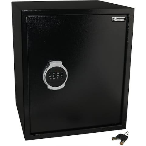"Sunnydaze Steel Digital Home Security Safe - Removable Shelf - 2.26 Cubic Feet - 15.25""W x 14.25""D x 18""H"