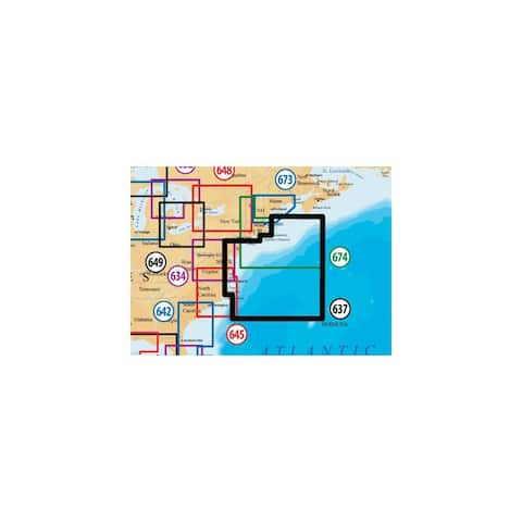 Navionics Platinum Plus New Jersey and Delaware MSD/637PP Platinum Plus New Jersey and Delaware - Multicolor