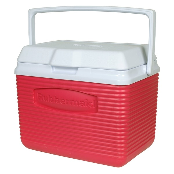 Rubbermaid FG2A0904MODRD Modern Red Victory Ice Chest, 5-Quart