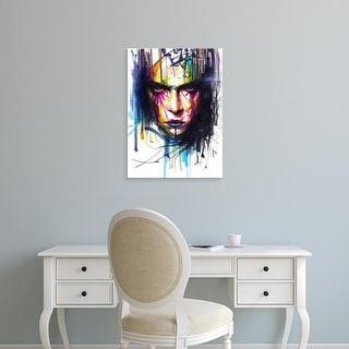 Easy Art Prints Minjae Lee's 'Gaze II' Premium Canvas Art