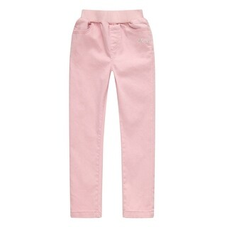 Richie House Girls' Sweet cotton pants