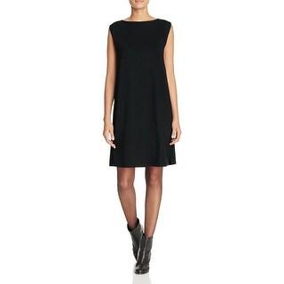 Eileen Fisher Womens Casual Dress Jersey Sleeveless