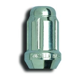 Box of 100 1//2-Inch Thread Size Gorilla Automotive 21188HT Acorn Chrome Small Diameter Lug Nut