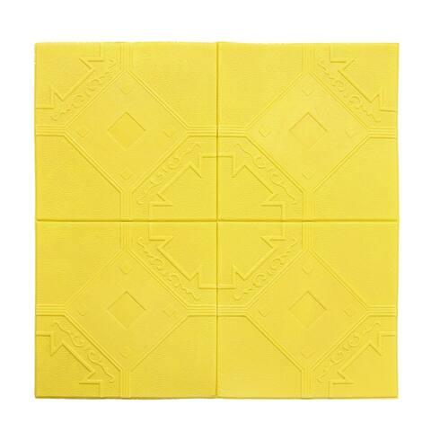 3D Wall Panels Foam Self-stick Durable Wall Decoration Wall Tiles 3.88 Sq Ft