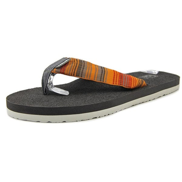 c9f536bc993423 Shop Teva Mush II Men Open Toe Synthetic Orange Flip Flop Sandal ...