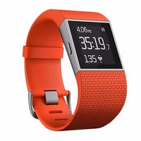 Fitbit Surge GPS Activity Tracking Watch Small, Orange
