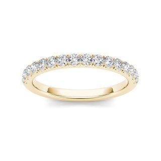 Link to De Couer 14k Yellow Gold 1/2ct TDW Diamond Wedding Band Similar Items in Wedding Rings