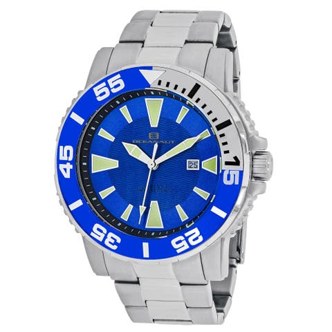 Oceanaut Men's Marletta OC2913 Blue Dial Watch