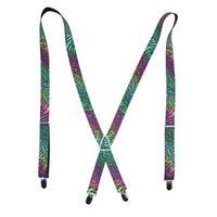 Buckle Down Kid's Rainbow Animal Print Suspenders