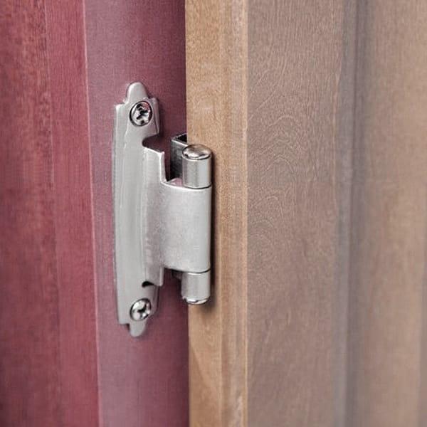 Shop 2pcs Kitchen Cabinet Hinges Self Closing Cupboard Door ...