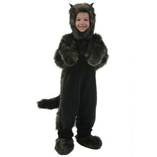 Child Black Dog Costume