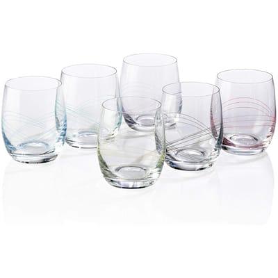 Bezrat Set of 6 Stemless Wine Glasses