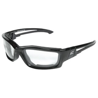 Edge Eyeware SK111-SP Kazbek Safety Glasses, Black Frame