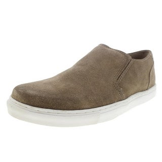 Kenneth Cole Mens Stake A Clay Fashion Sneakers Suede Perforated