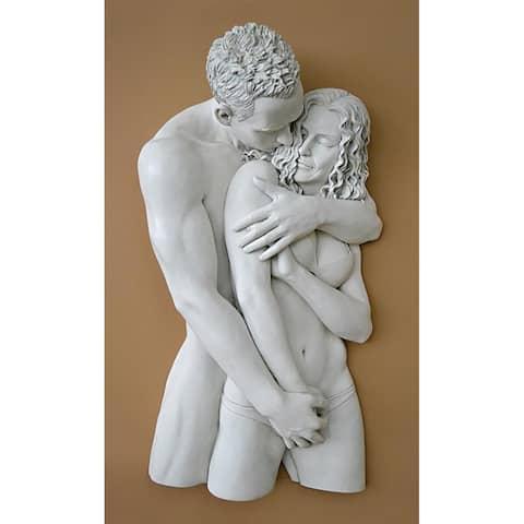 Design Toscano Engulfing Embrace Wall Sculpture
