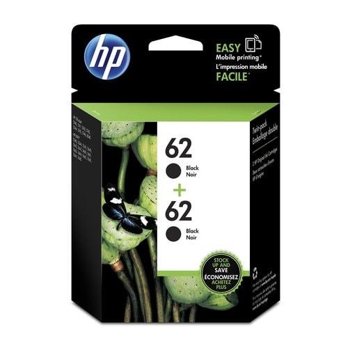 HP 63 2-pack Black Original Ink Cartridges (T0A52AN)(Single Pack)