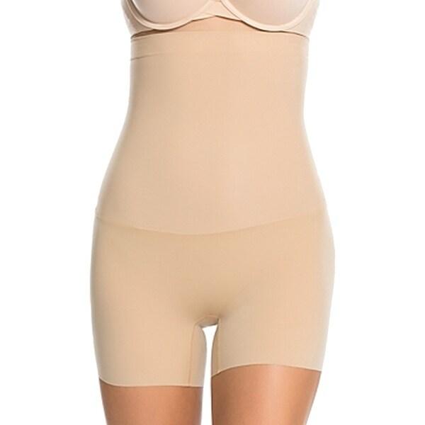 ec5517f76d794 Shop Spanx NEW Beige Women s Size Medium M High Waist Briefs Shapewear -  Free Shipping On Orders Over  45 - Overstock.com - 20558212