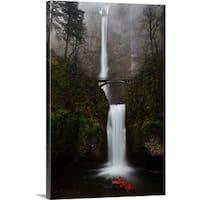 Premium Thick-Wrap Canvas entitled Multnomah fall, Columbia river gorge.