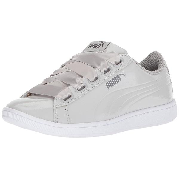 low priced db5a2 eeca3 PUMA Womenx27s Vikky Ribbon P Sneaker - 9