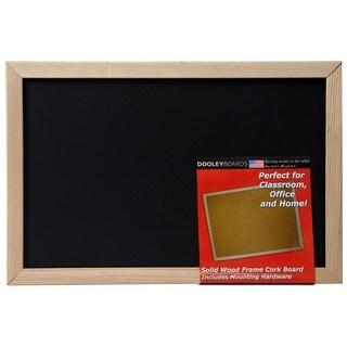 Dooley Boards 1218CH Wood Framed Chalkboard, 11 x 17 in.