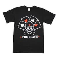 The Clash Straight to Hell Cards T-Shirt - black