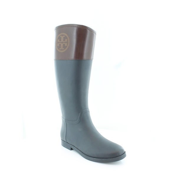 2f9ce7b746e Shop Tory Burch Classic Rain Boot Women s Boots Navy   Almond - Free ...