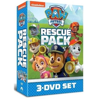 Paw Patrol Rescue Pack [DVD]
